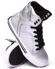 Footwear - SILVER SKYTOP SNEAKERS