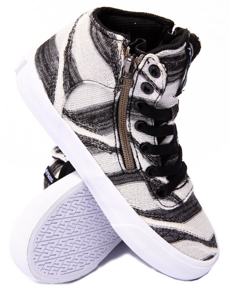 Ur-ID 206720 Supra - Women Black,White Supra Cuttler Abstract Print Sneaker