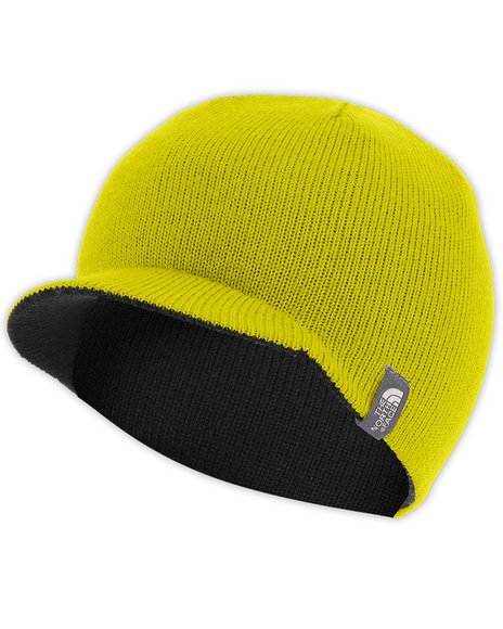 The North Face - Girls Yellow Reversible Slopeside Beanie