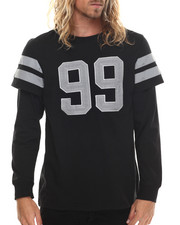 Men - Spartans Reflective Layered L/S Shirt