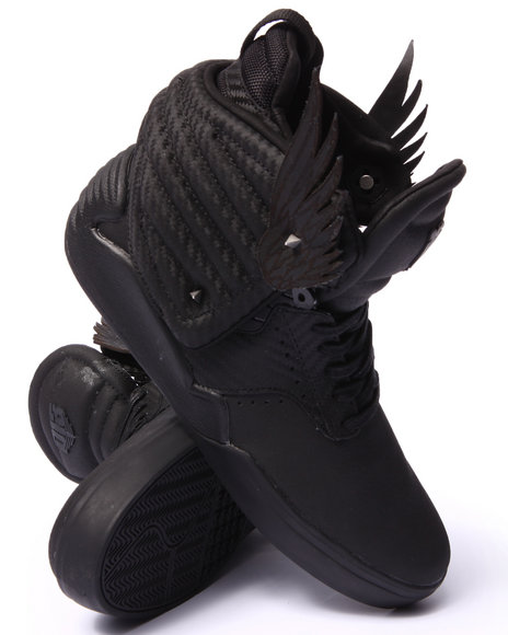 Supra - Men Black The Hunger Games District 13 Sneakers