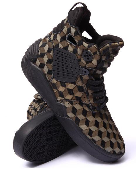 Supra Black,Olive Sneakers