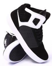 The Skate Shop - Atom Black Suede/Oiled Nubuck Sneakers