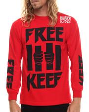T-Shirts - Free Keef L/S Tee