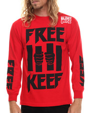 Men - Free Keef L/S Tee