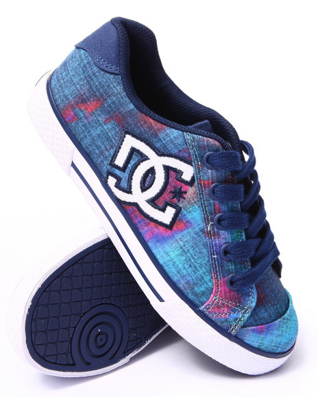 Dc Shoes - Women Blue Chelsea S E