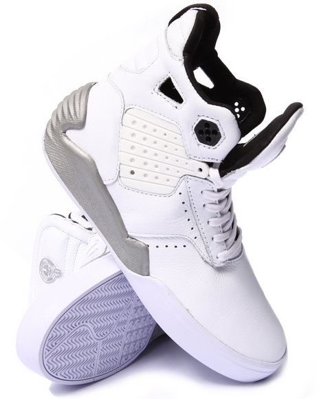Supra - Men White The Hunger Games Skytop Iv Capitol Sneakers