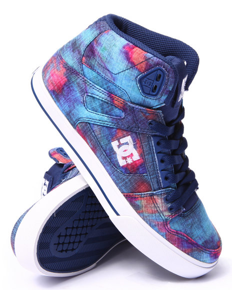 Ur-ID 206769 DC Shoes - Women Blue Spartan Hi S E