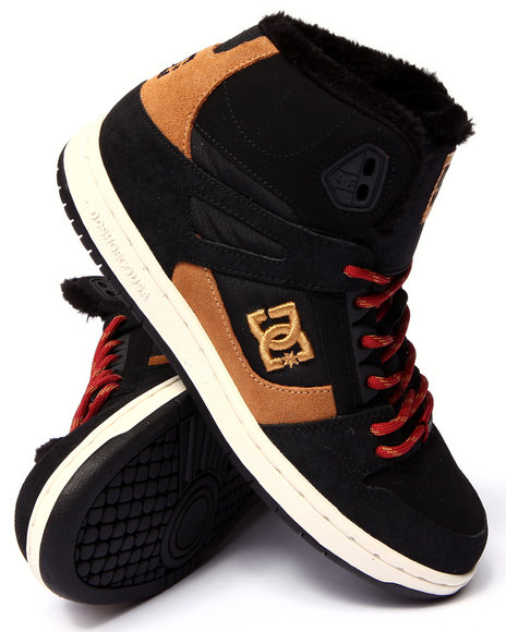 Ur-ID 206768 DC Shoes - Women Black Rebound High W N T