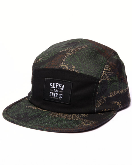 Supra Men Centerfield 5-Panel Cap Camo
