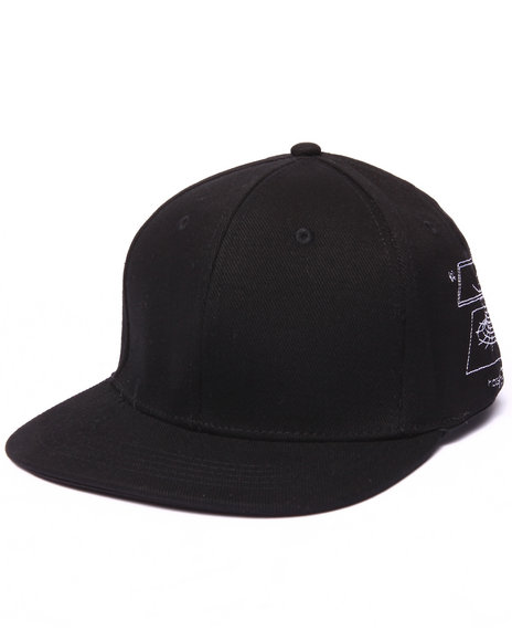 Been Trill Men Black Hole # Snapback Cap Black