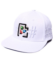 Men - JPEG Cease and Desist Snapback Cap