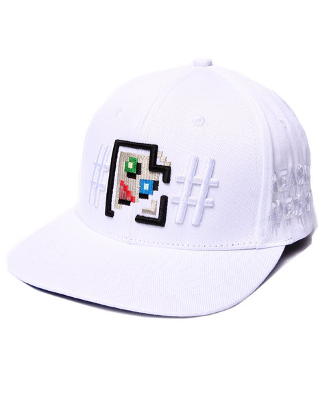 Been Trill Men Jpeg Cease And Desist Snapback Cap White