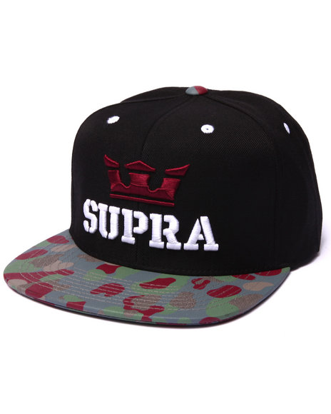 Supra Camo Clothing & Accessories
