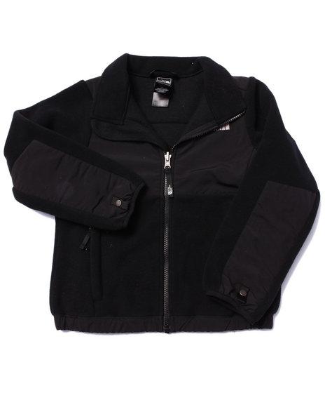 The North Face - Girls Black Denali Jacket-(5-18)