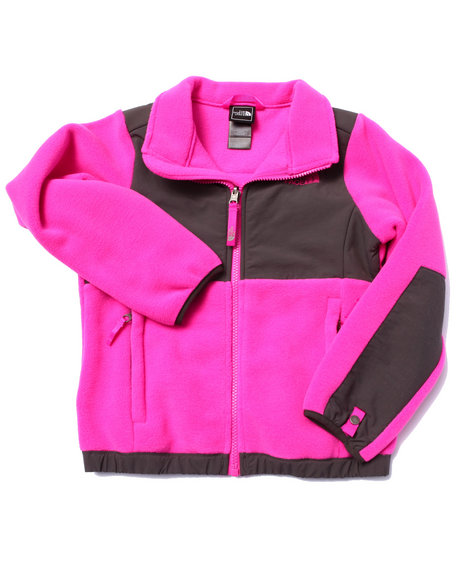 The North Face - Girls Pink Denali Jacket (5-18)