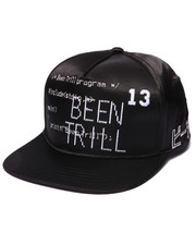 Men - Been Trill Code Satin Snapback Cap