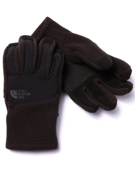 The North Face - Boys Black Denali Etip Glove