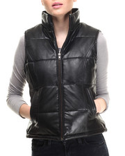 Outerwear - Moto Leather Vest
