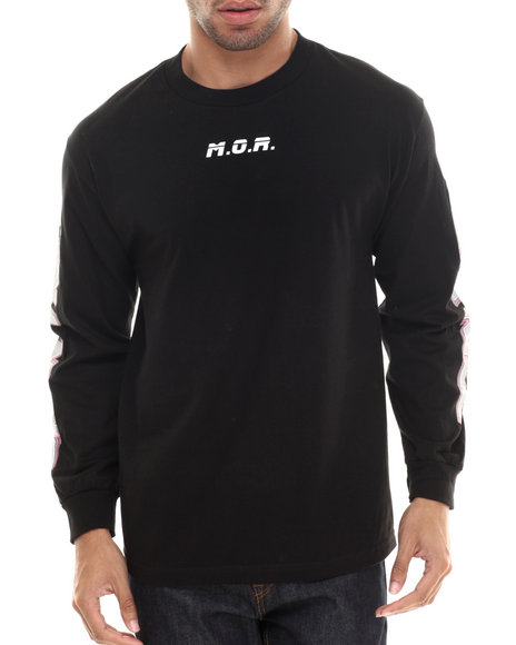 Been Trill - Men Black M.O.R. 6 L/S Tee