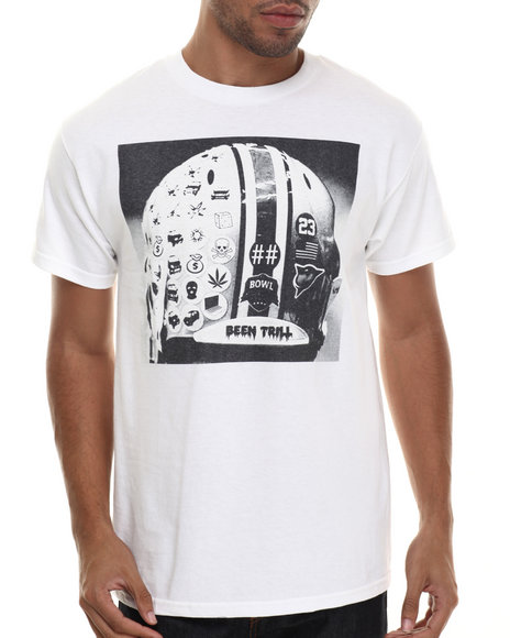 Been Trill - Men White Helmet S/S Tee