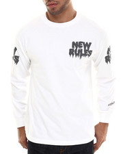 Men - New Rules L/S Tee