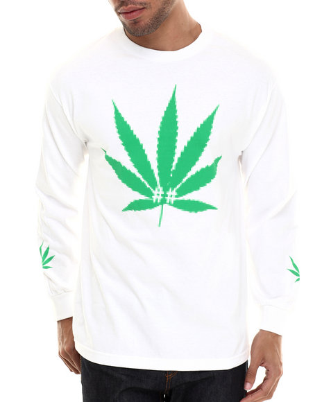 Been Trill - Men White Kind Bud L/S Tee