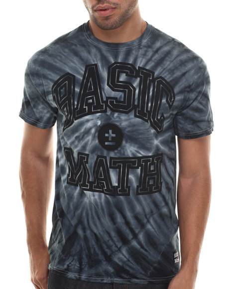 Basic Math Black T-Shirts