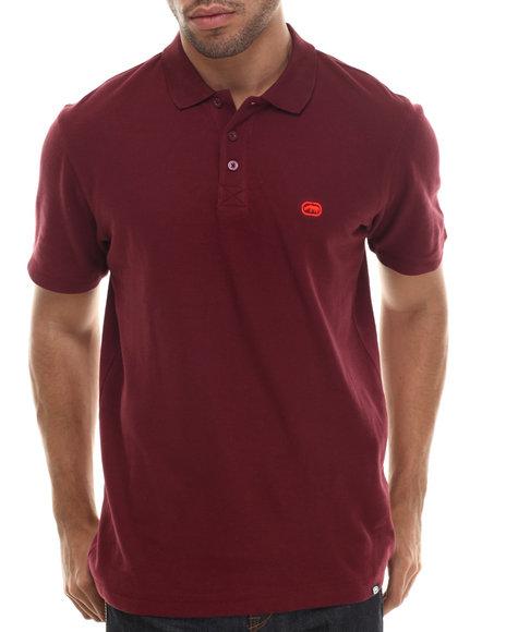 Ecko - Men Red Basic Ecko Cotton Polo