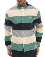 Men - Stripe Poplin L/S Button-Down