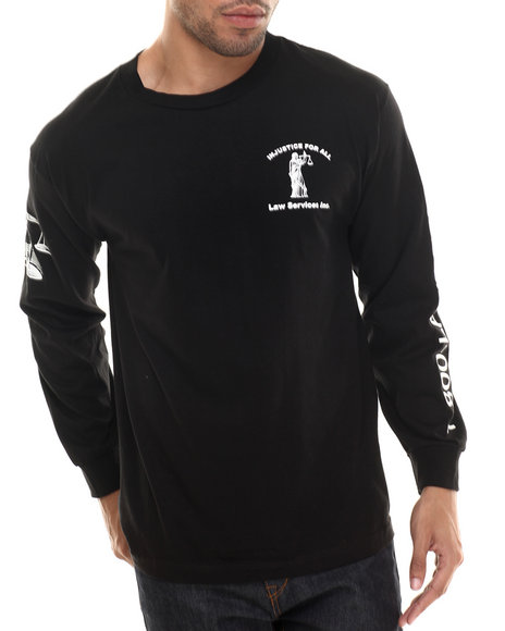 Been Trill - Men Black Injustice L/S Tee