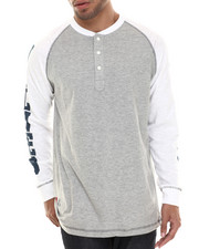 Long-Sleeve - Lone Wolf L/S Henley
