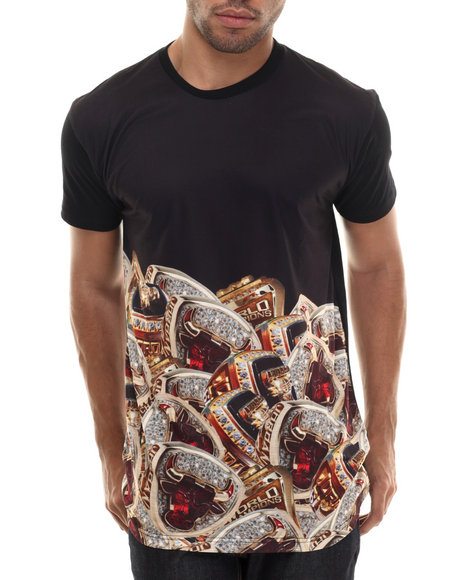 Entree - Men Black Ringlord T-Shirt - $39.00
