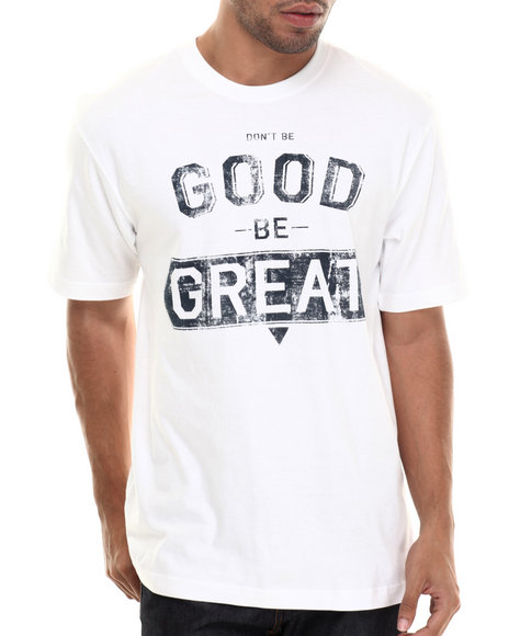 Rocawear - Men White S/S Be Great Tee - $24.50