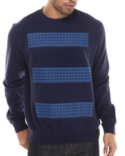 Men - Studs Crew Fleece Sweatshirt