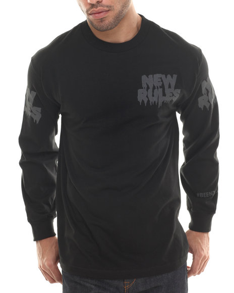 Been Trill - Men Black New Rules L/S Tee
