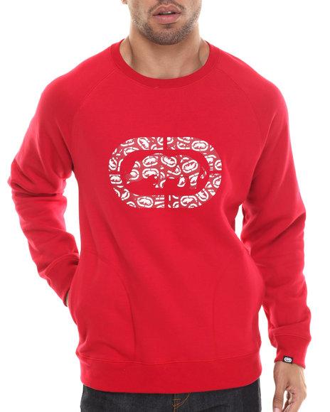 Ecko - Men Red Rhino Print Sweatshirt