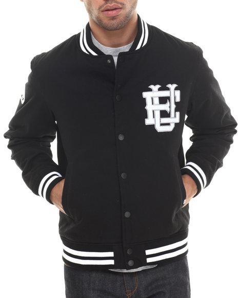 Ecko - Men Black Cotton Twill Jacket