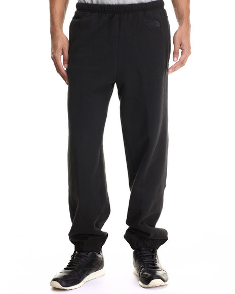 The North Face - Men Black Logo Sweatpants