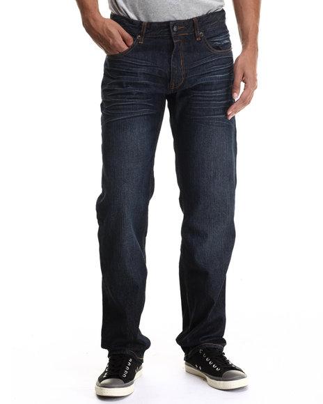 Rocawear Blak - Men Dark Wash Blak Straight Fit Jeans