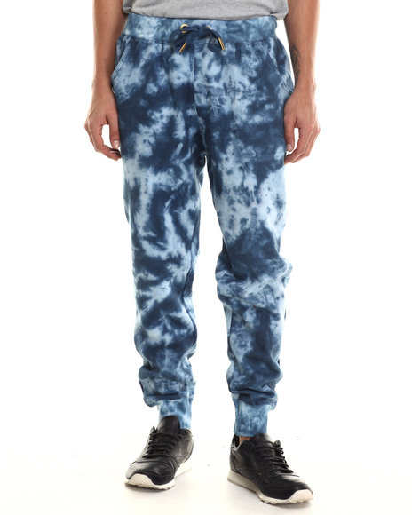 Buyers Picks - Men Navy Agents Acid Jogger Pants - $27.99