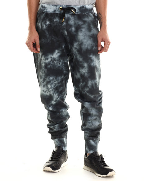 Buyers Picks - Men Black Agents Acid Jogger Pants
