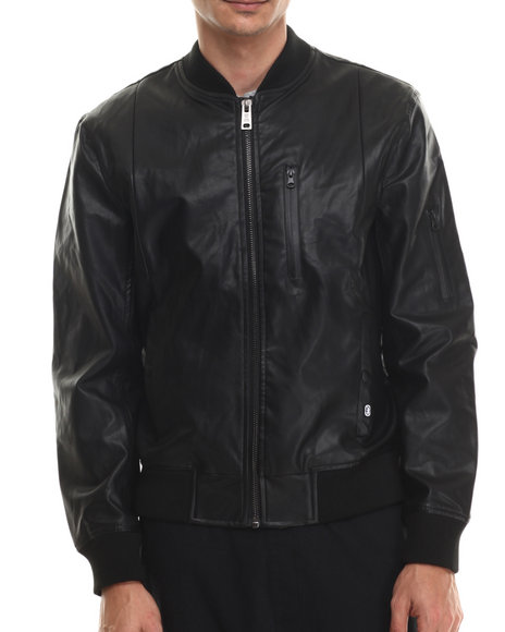 Ecko - Men Black Full Pu Jacket