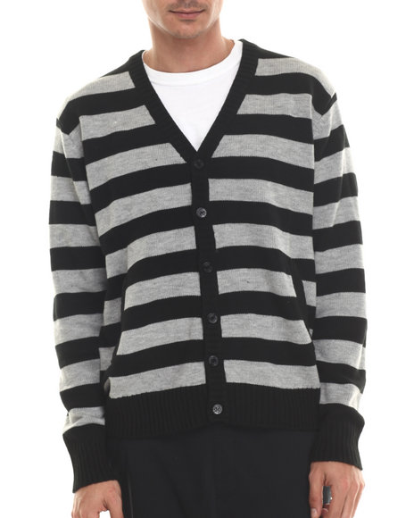 Ur-ID 206929 Buyers Picks - Men Black Classic Cardigan