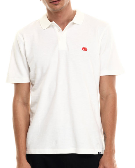 Ur-ID 206940 Ecko - Men White Basic Ecko Cotton Polo