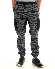 Jeans & Pants - Tiger Camo Cargo Jogger