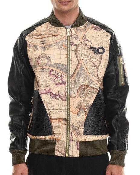 Frost Originals - Men Black Trailblazer Bomber Jacket