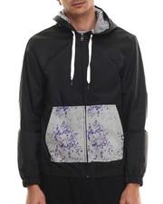 Outerwear - Contrast Splatter Hoodie