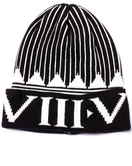 Eight 732 Men Shape Up Beanie Black