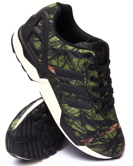 Adidas - Men Green Z X Flux Print